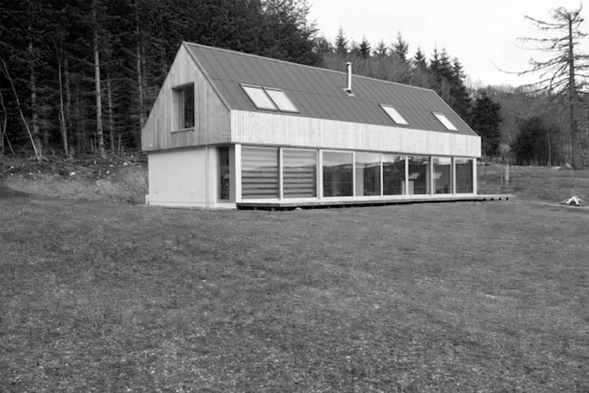 Rural architecture Tomatin
