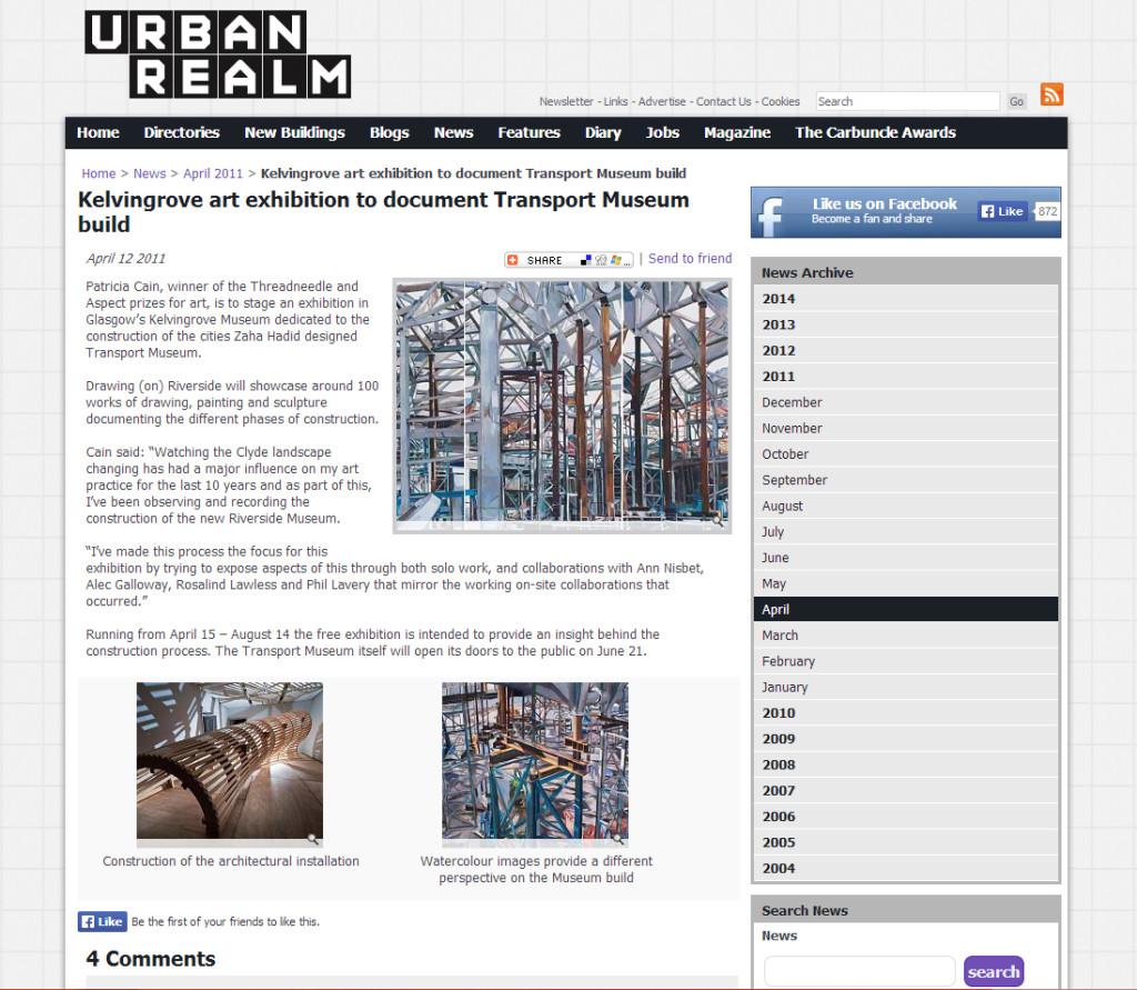 Urban Realm patricia Cain and Ann Nisbet