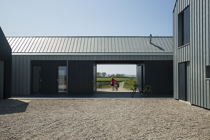 Rural Design: Contemporary Farm House, North Ayrshire