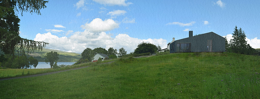Rural Barn House