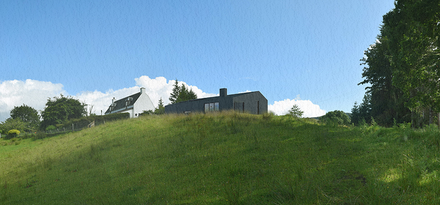 Rural Barn House_Lochaber_Highlands