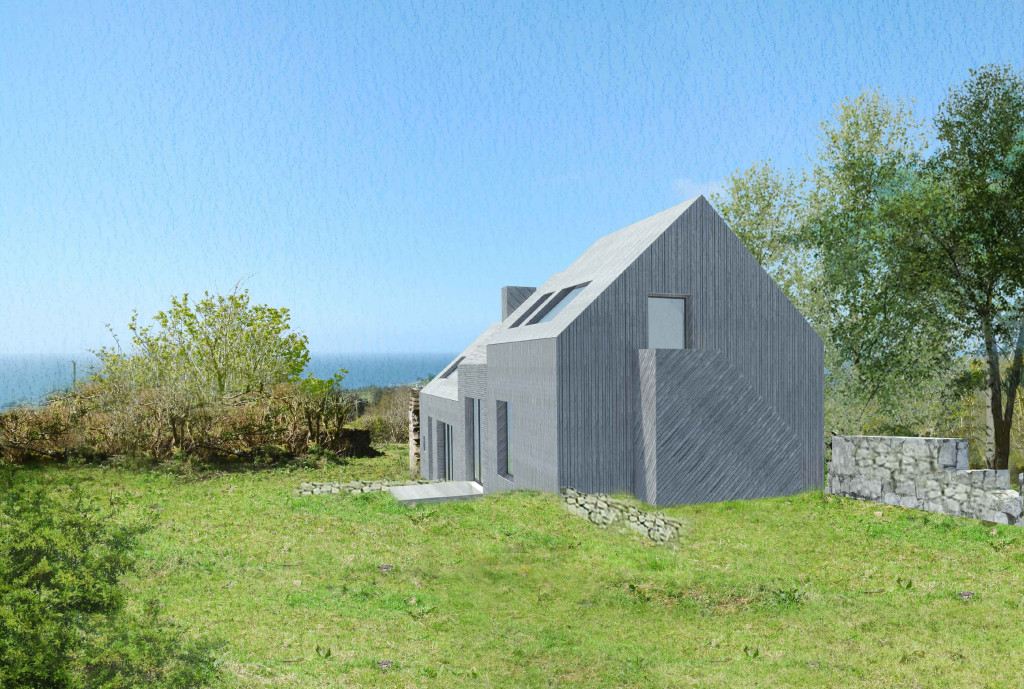 Architect designed rural house Arran