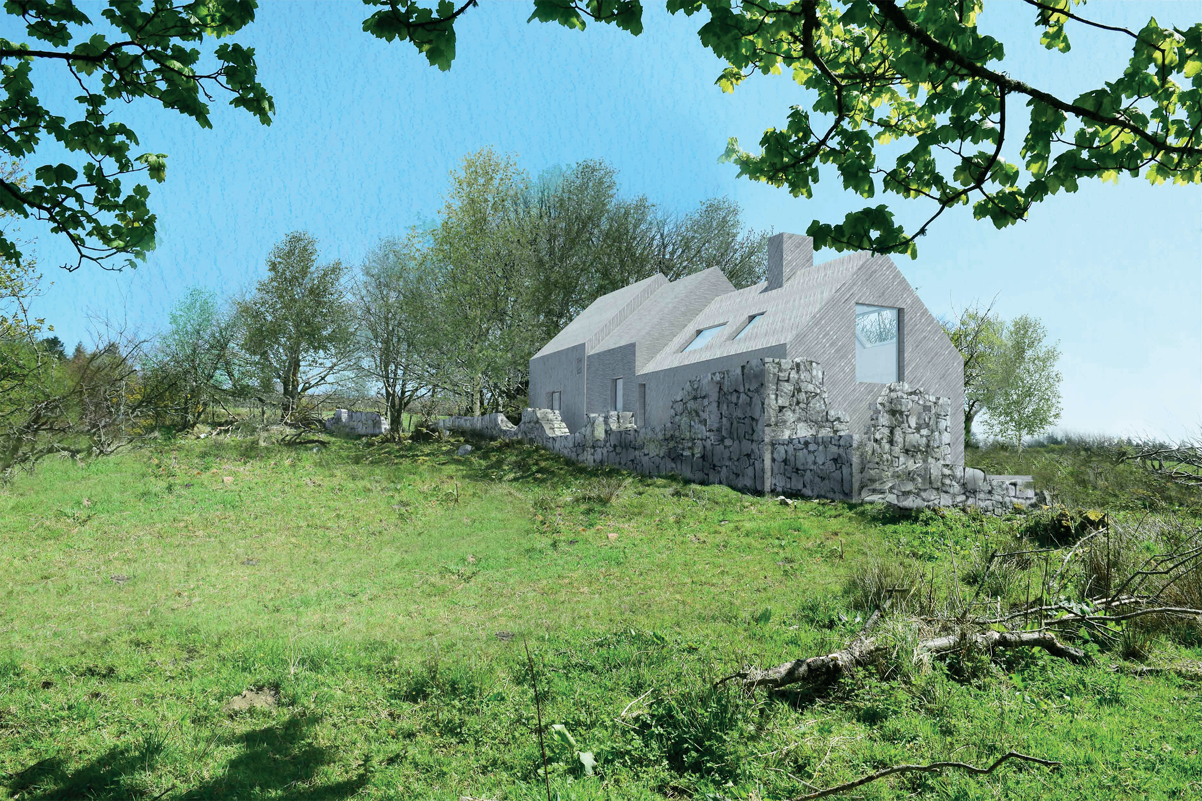 New Rural House Isle of Arran