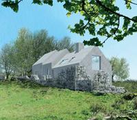 Rural house in Arran