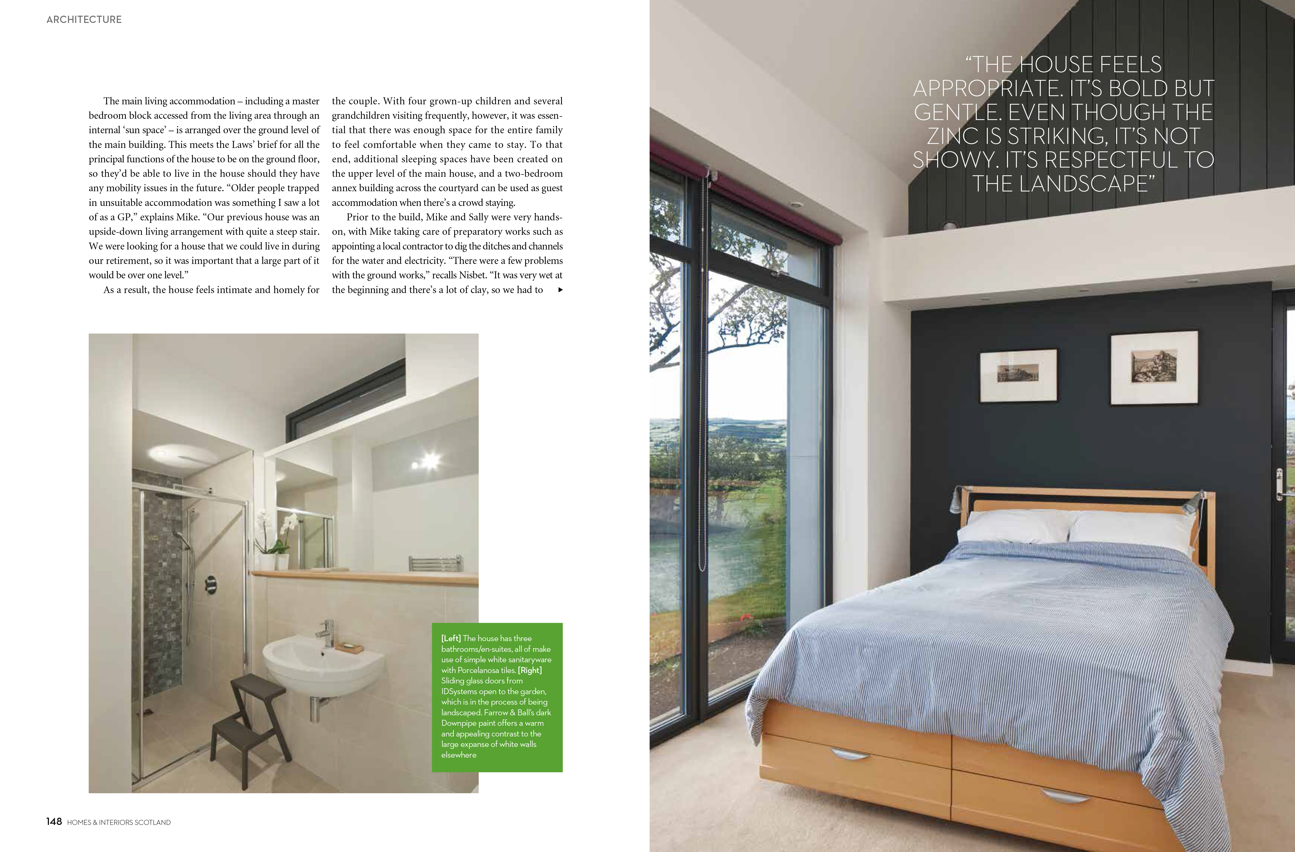 homes and interiors. Homes and Interiors Scotland Magazine Project  Newhouse of Auchengree Article by Caroline Ednie Photographs David Barbour Ann Nisbet Architecture Studio