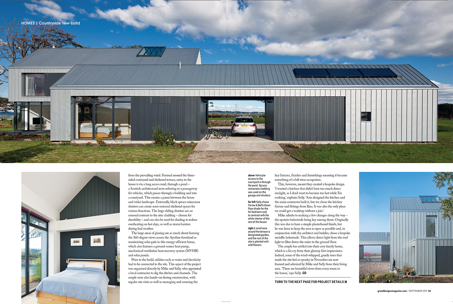 Grand Designs Magazine | Ann Nisbet Architecture Studio